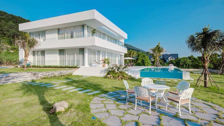 The White Villa Homestay Tam Đảo tuyệt đẹp