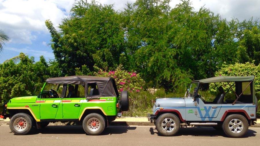 Xe Jeep là một loại hình phương tiện di chuyển khá được ưa chuộng