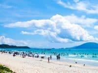 Biển Hải Tiến Thanh Hoá trong xanh, mát lành