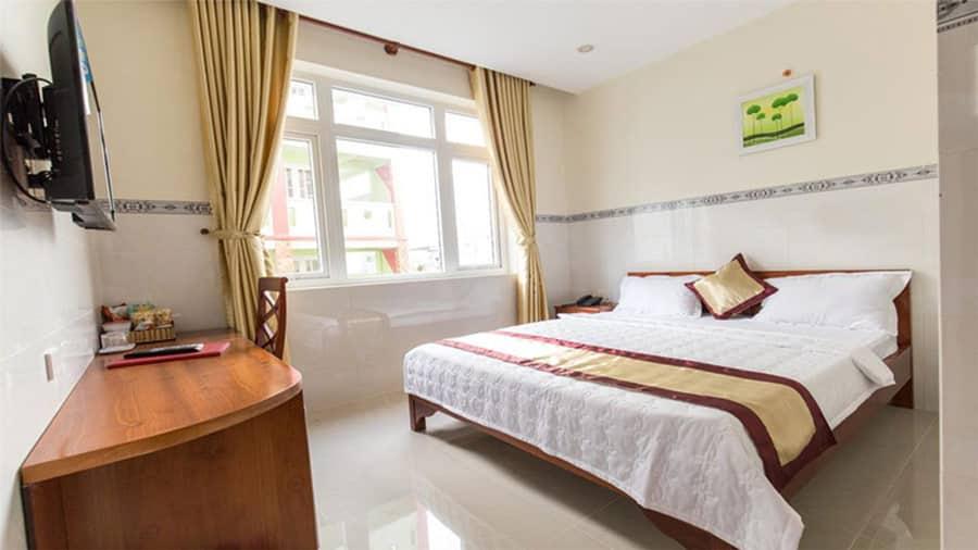 Phòng nghỉ ở khách sạn Bình Minh Hải Tiến