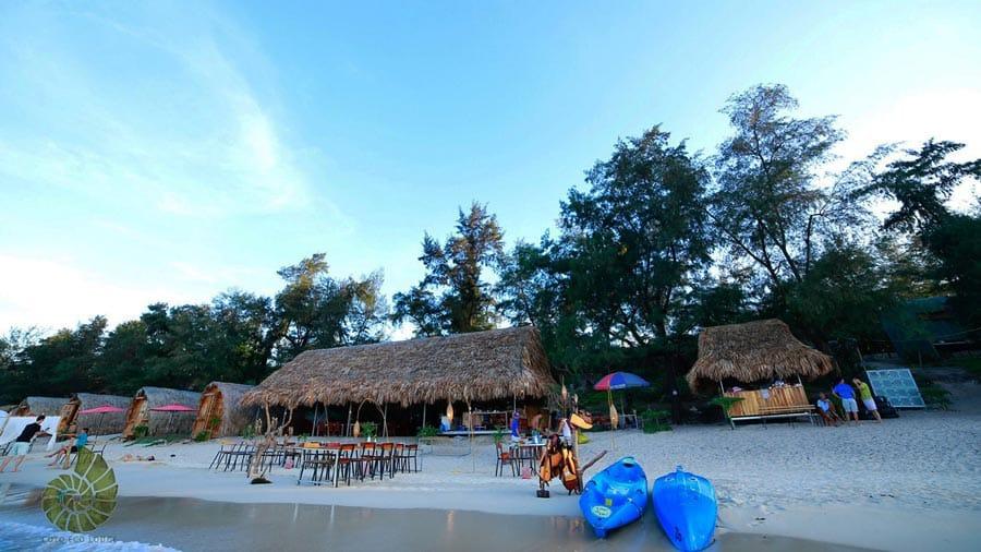 Thiết kế nhà ở theo cấu trúc lều vịt độc đáo trước đây của Coto Eco Lodge