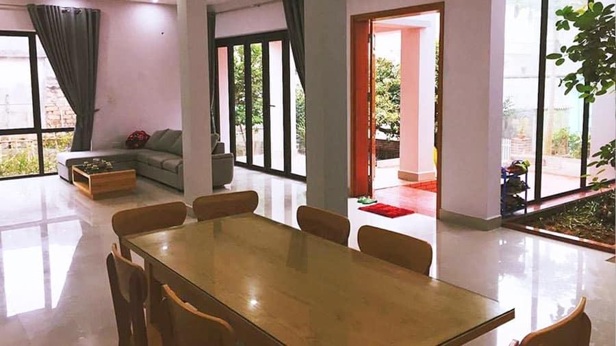 Phòng tại D'Home Homestay sạch sẽ, hiện đại