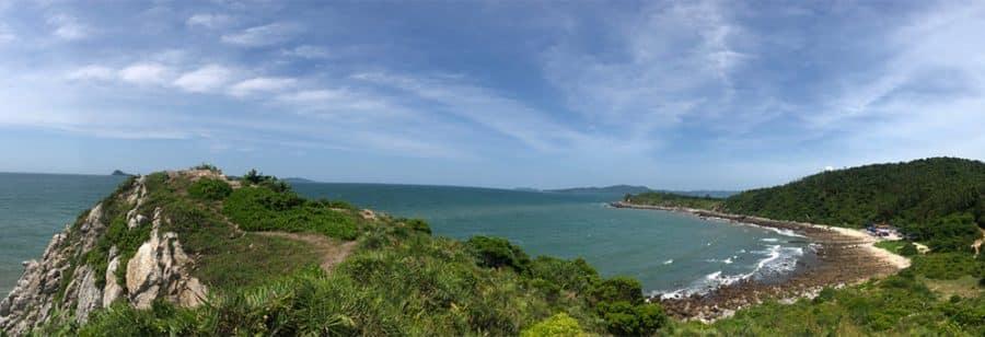 Một góc nhìn toàn cảnh Eo Gió Gót Beo - Quan Lạn
