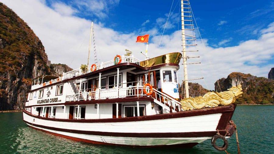 Tàu Golden Star Cruise đẳng cấp sang trọng, tiện nghi hiện đại