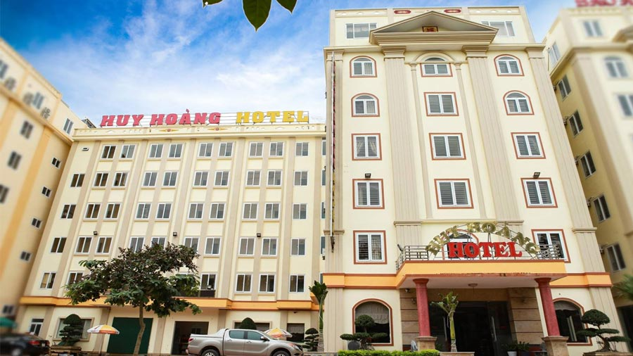 Khách sạn Huy Hoàng Hải Tiến khang trang, hiện đại