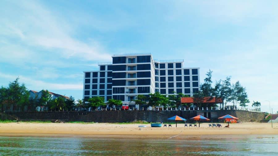 Khách sạn Sông Lam khang trang, hiện đại