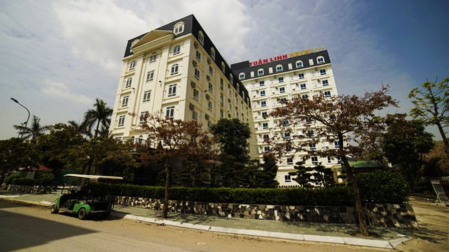 Toàn cảnh khách sạn Tuấn Linh Hải Tiến