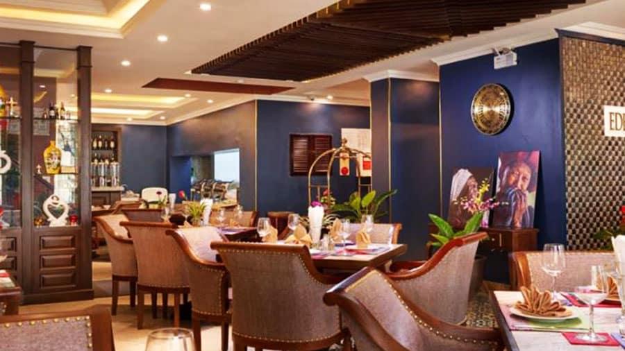 Nhà hàng tại khách sạn phục vụ các món ăn vô cùng ngon miệng