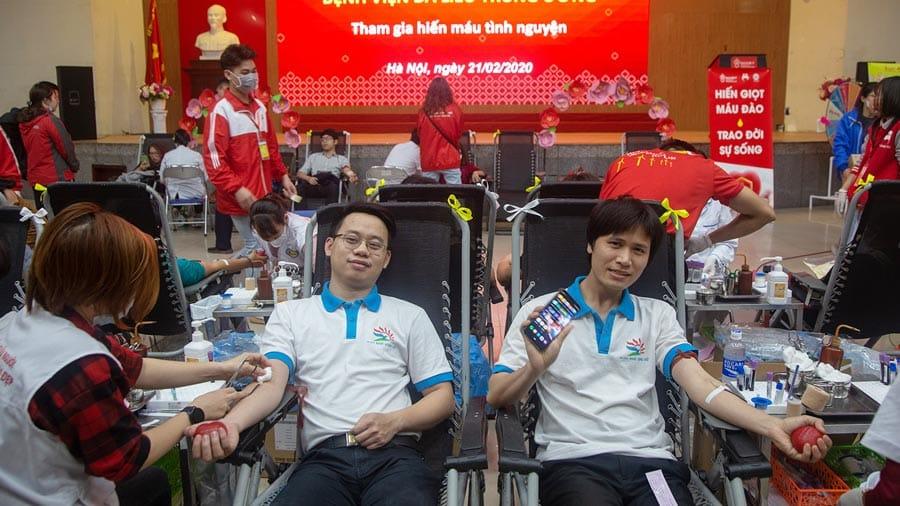 Hiến máu nhân đạo - Hành động ý nghĩa được lan toả cho toàn bộ nhân viên của Công ty