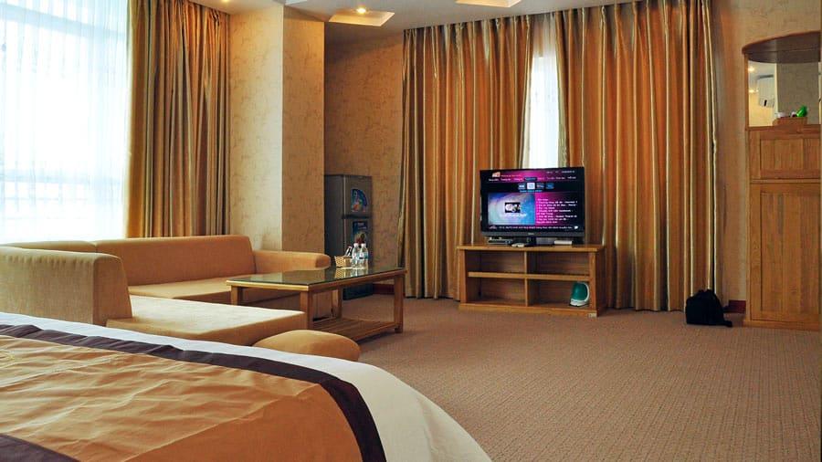 Phòng VIP tại khách sạn Thiên Ý