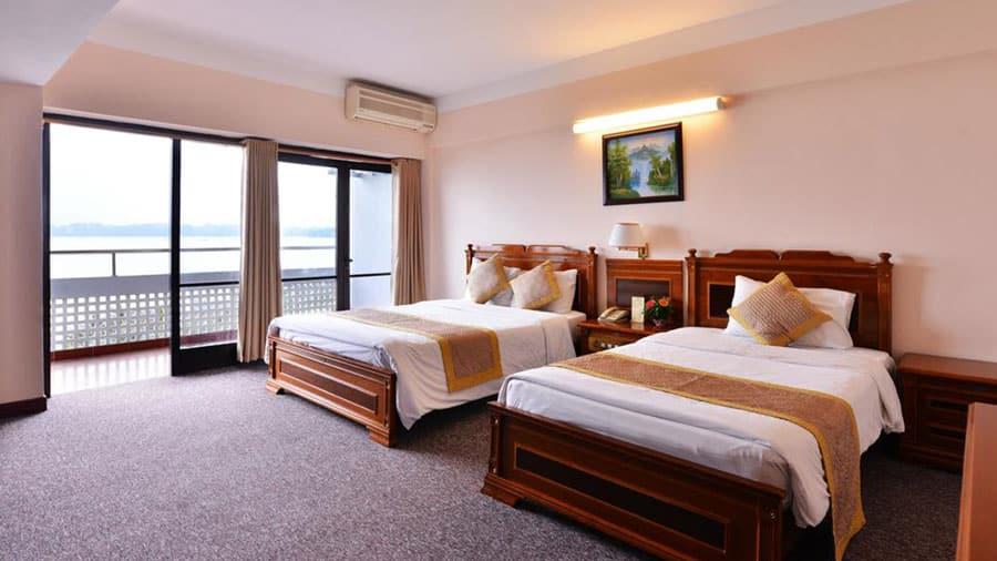 Phòng khách sạn Công Đoàn Thiên Cầm (Ảnh tham khảo)