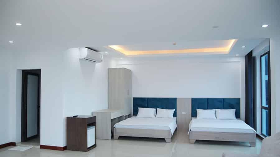 Phòng khách sạn Sông La hiện đại, tiện nghi