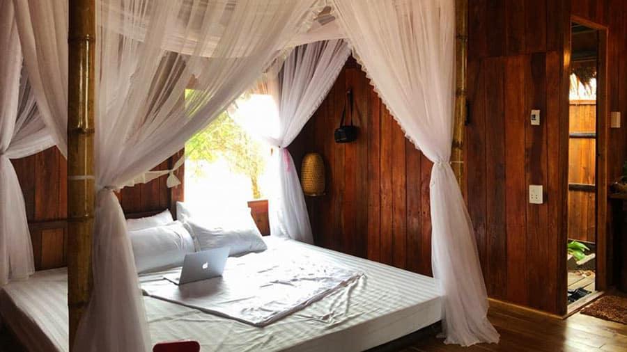 Phòng Wood Bungalow tại Coto Life