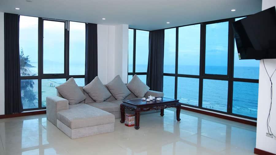 Phòng VIP hướng biển tại khách sạn