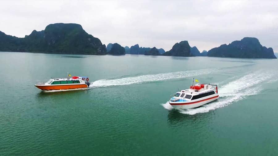 Tàu cao tốc ra đảo Quan Lạn có rất nhiều sự lựa chọn dành cho bạn