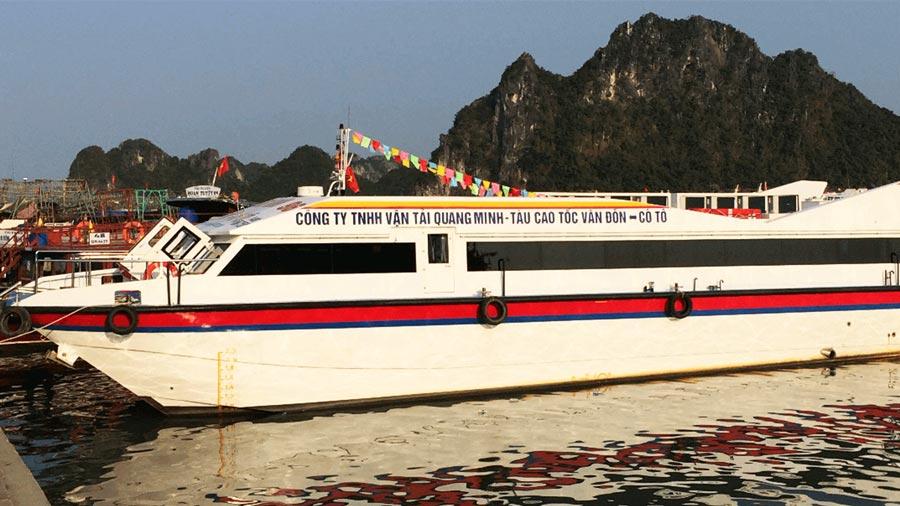 Tàu cao tốc Quang Minh chất lượng cao