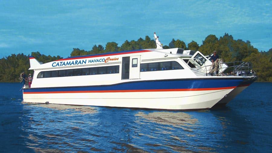 Tàu cao tốc HAVACO - Phương tiện đến đảo Cô Tô thuận tiện