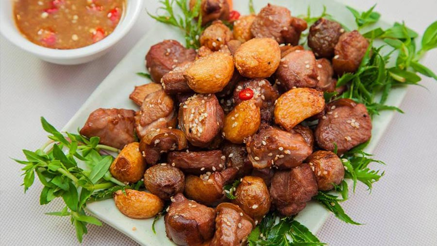 Đặc sản thịt dê thơm ngon, hấp dẫn