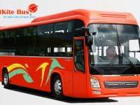Banner quảng cáo của hãng xe bus VietKite Bus
