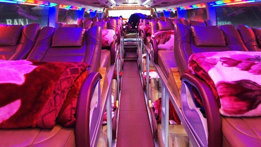 Xe khách giường nằm đảm bảo đem lại sự thoải mái cho chuyến đi dài của bạn