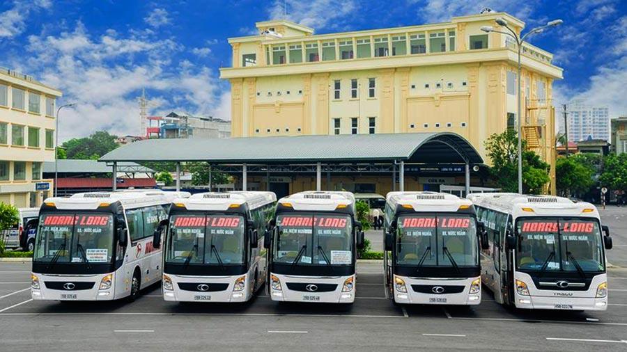 Xe khách Hoàng Long - Xe giường nằm cao cấp đi biển Thiên Cầm