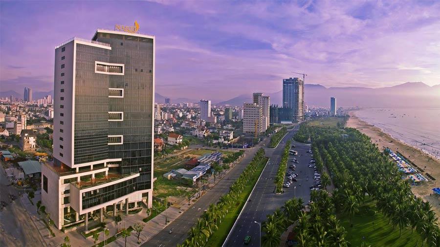 Khách sạn Nalod Đà Nẵng với kiến trúc góc cạnh, đẳng cấp và độc đáo