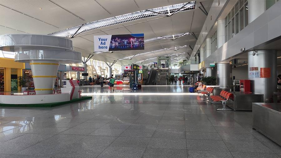 Bên trong Nhà ga quốc nội sân bay Đà Nẵng