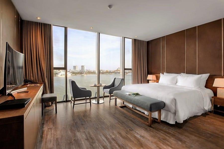 Phòng nghỉ khách sạn Arova Đà Nẵng