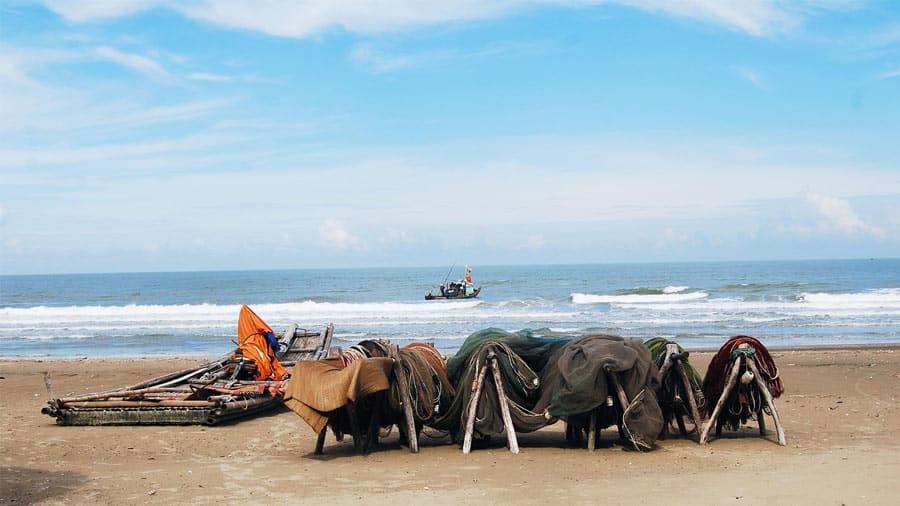 Biển Hải Hòa - một vùng biển hiền hòa
