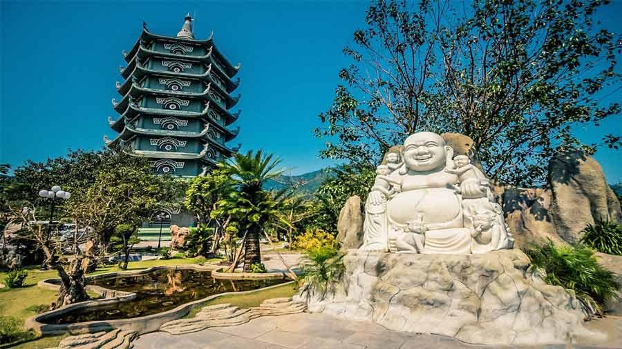 Hình ảnh một góc nhỏ của chùa