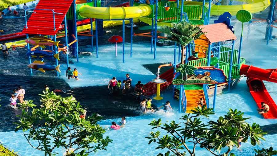 Công viên nước mini Paracel