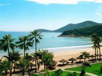 Hình ảnh biển Hải Tiến nhìn từ một khách sạn ven bờ