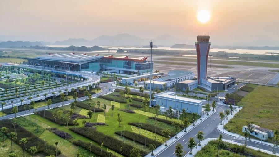 Khai trương đường bay Vân Đồn - Đà Nẵng