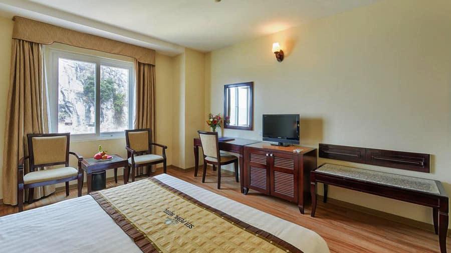 Phòng nghỉ tại khách sạn luôn đảm bảo đem lại những trải nghiệm tuyệt vời nhất cho du khách