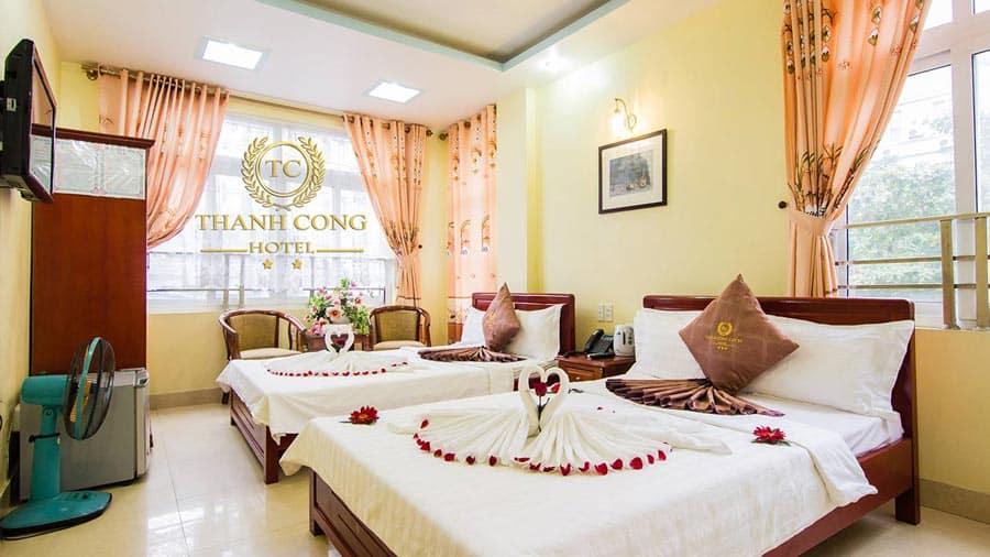 Trải nghiệm sự thoải mái vượt trội tại phòng khách sạn Thành Công