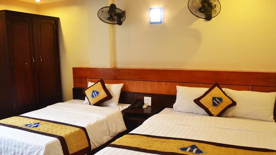 Phòng nghỉ tại Hoàng Gia Minh Hotel hứa hẹn sẽ đem đến cho bạn những trải nghiệm thoải mái nhất