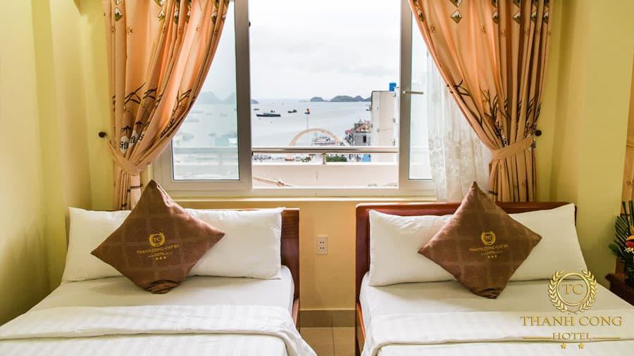 Phòng khách sạn hướng biển tuyệt đẹp