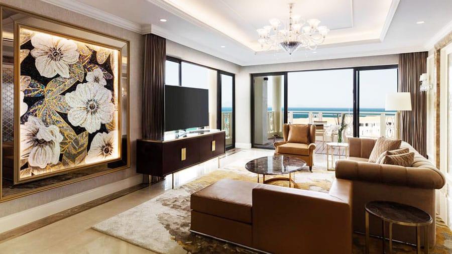Phòng ngủ tại Sheraton Đà Nẵng hứa hẹn sẽ đem đến cho bạn kì nghỉ dưỡng lý tưởng nhất