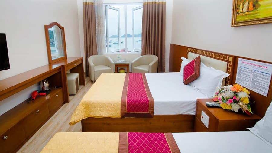 Phòng ngủ hướng biển sẽ đem đến cho du khách những trải nghiệm vô cùng đáng nhớ