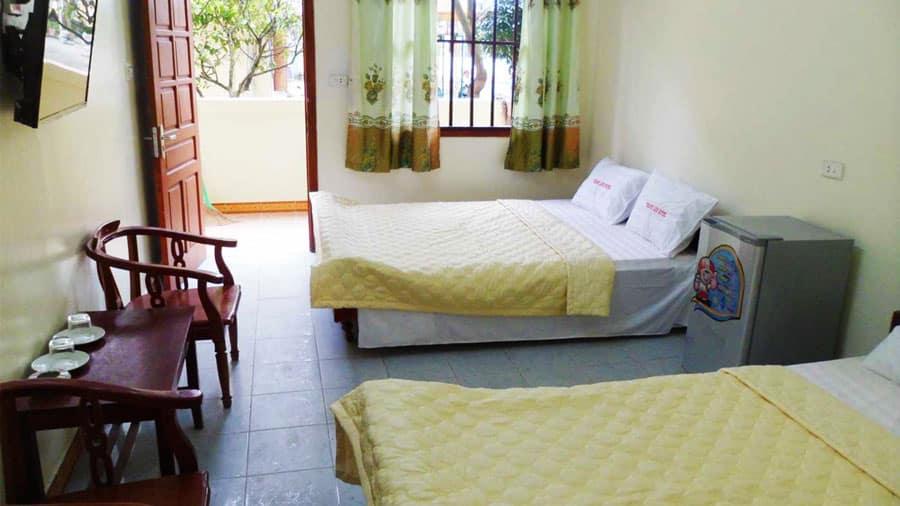 Phòng khách sạn Thanh Lịch thoáng mát, sạch sẽ