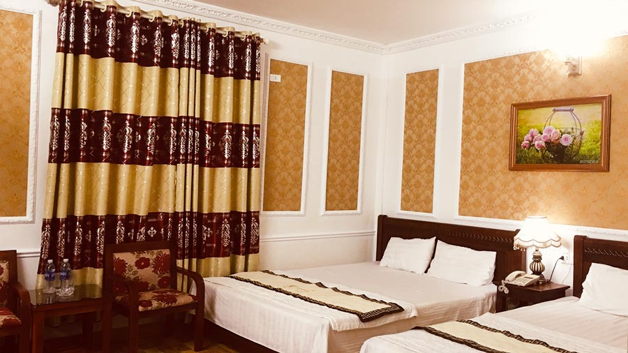 Phòng VIP 2 khách sạn Moonlight Hải Tiến