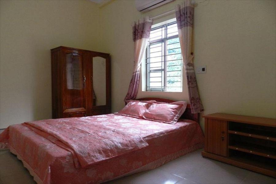 Phòng giường đôi tại nhà nghỉ Hoa Ban