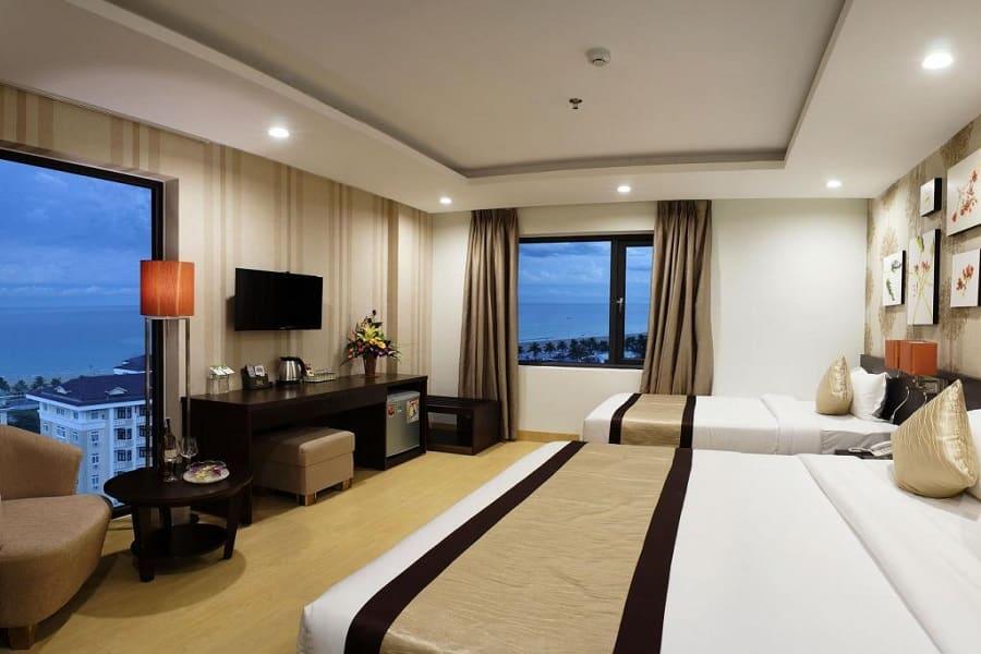 Phòng nghỉ của khách sạn Bắc Cường