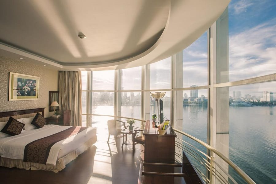 Phòng nghỉ khách sạn Sun River Danang