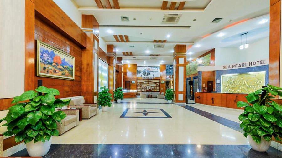 Khách sạn Sea Pearl Cát Bà khang trang, hiện đại
