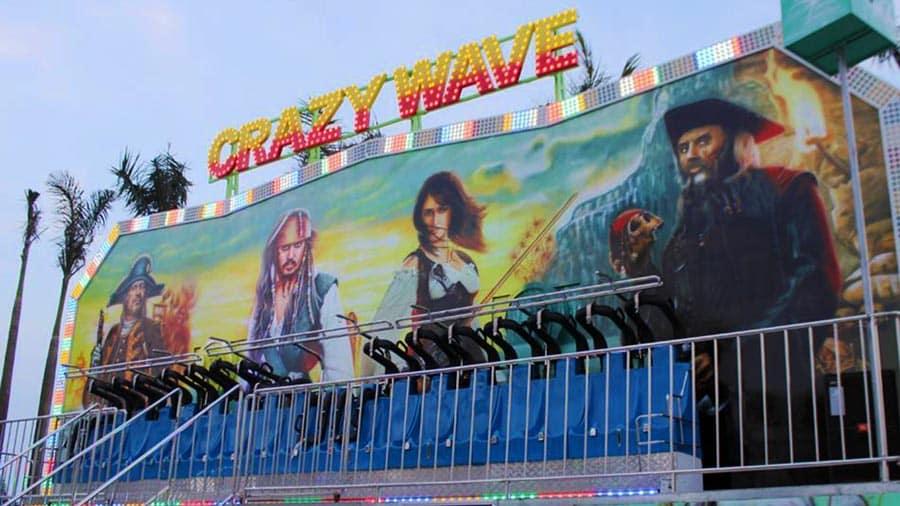 Trò Crazy Wave siêu ấn tượng