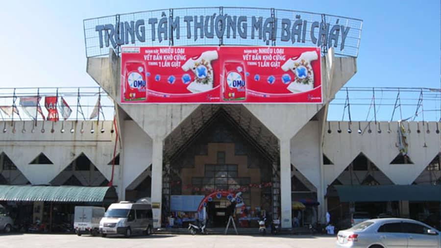 Trung tâm thương mại Bãi Cháy là một trung tâm thương mại lớn, hiện đại của thành phố Hạ Long