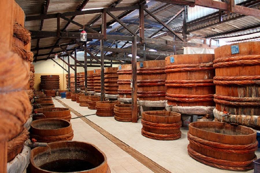Nhà thùng nước mắm Nam Ngư Phú Quốc