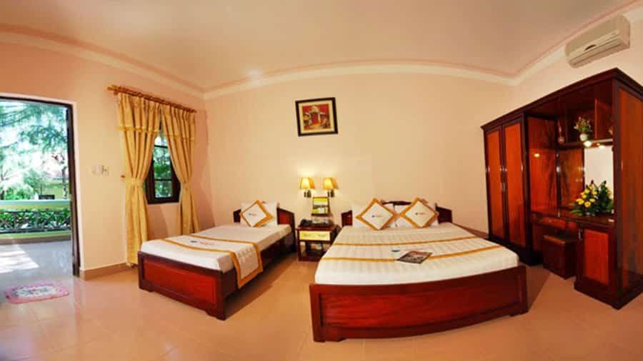 Phòng tại Thiên Hải Sơn đầy đủ tiện ích với mức giá phải chăng