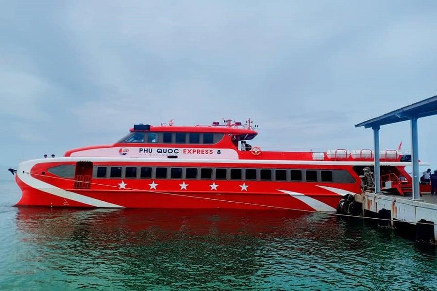 Phú Quốc Express 8 tuyến Phú Quốc- Hà Tiên